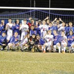 The Mercer County soccer team defeated West Jessamine 4-0 Thursday night to win their fifth straight 46th District Championship.