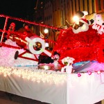 The Red Baron and Snoopy gave new meaning to dogfight at last year's Christmas Parade in Harrodsburg.