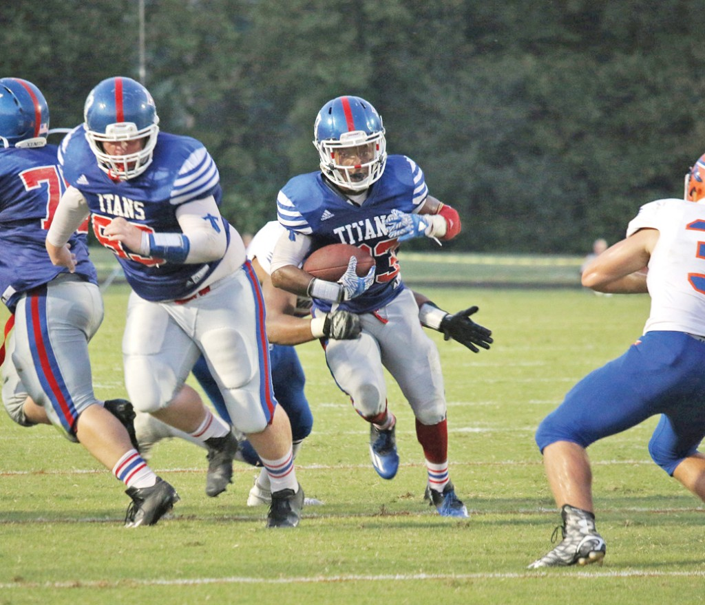 Donald 'D' Smith leads Mercer County on the ground with 629 yards and 11 touchdowns in nine games.