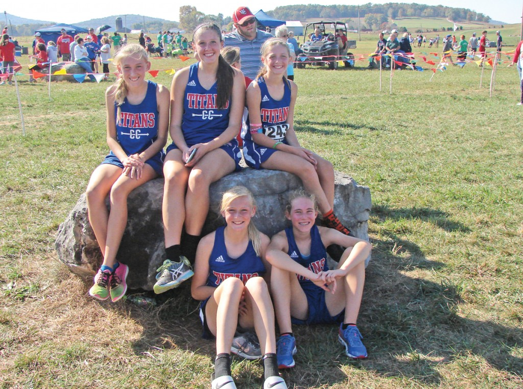 The Mercer County Lady Titans Cross-Country team qualified for the State Cross-Country Meet by finishing fourth in the Class AA, Region 5 Meet Saturday morning.