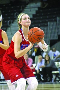 Mercer County junior Emma Davis recently committed to play college basketball at Southeast Missouri State University.