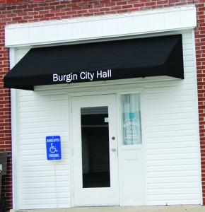 Burgin City Hall