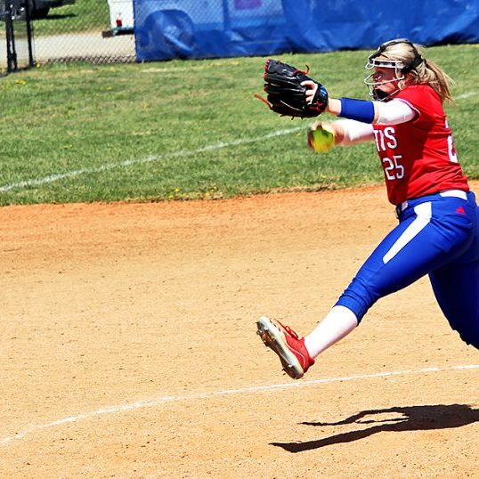 The Harrodsburg Herald/Myron Ellis Mercer freshman Ashley Howard was strong at the mound and strong at bat against North Hardin Monday.