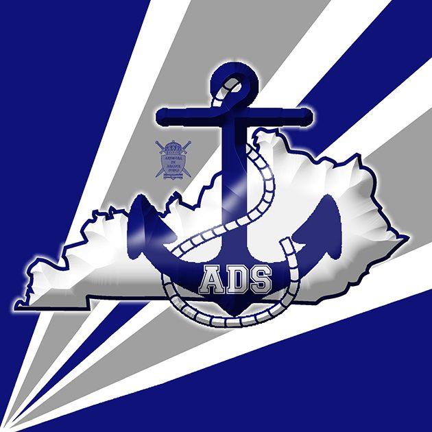 Danville Admirals Logo FRONT