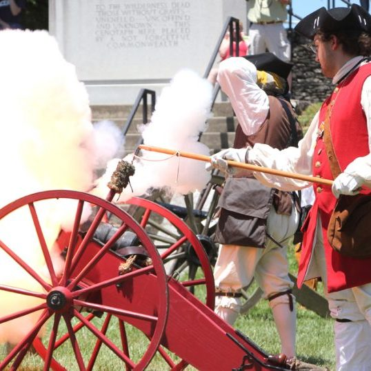 Have a blast while learning history at the Settlement & Raid at Old Fort Harrod State Park.