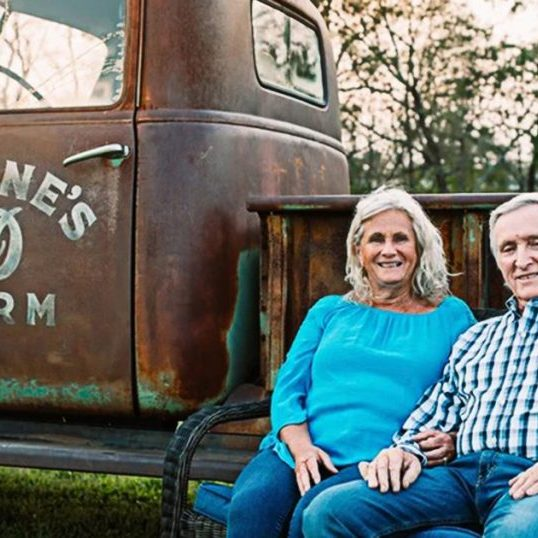 Image Submitted Martina and Glenn Devine and their family have been operating Devine's Corn Maze and Pumpkin Patch for 14 years.