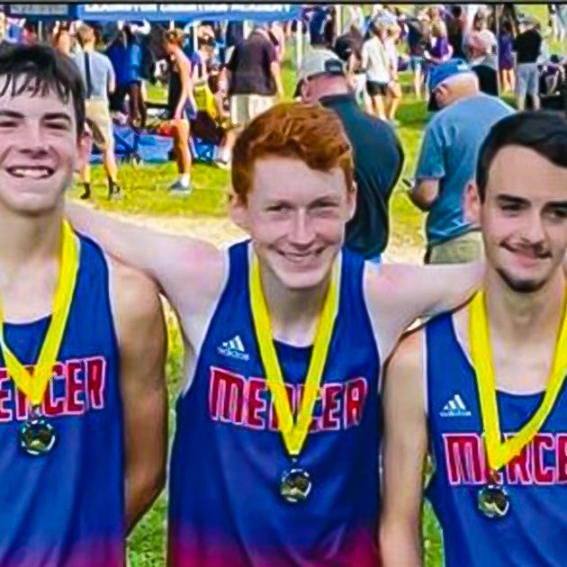 Mercer X Country Runners FRONT