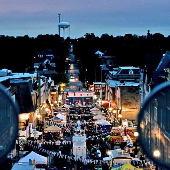 Oktoberfest from Ferris Wheel