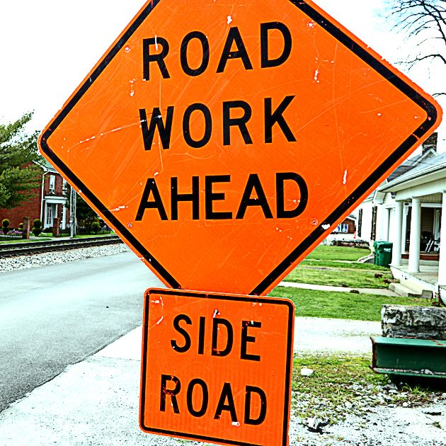 While work is supposed to start on some state roads like College Street within the month, paving on city streets will not start until September.
