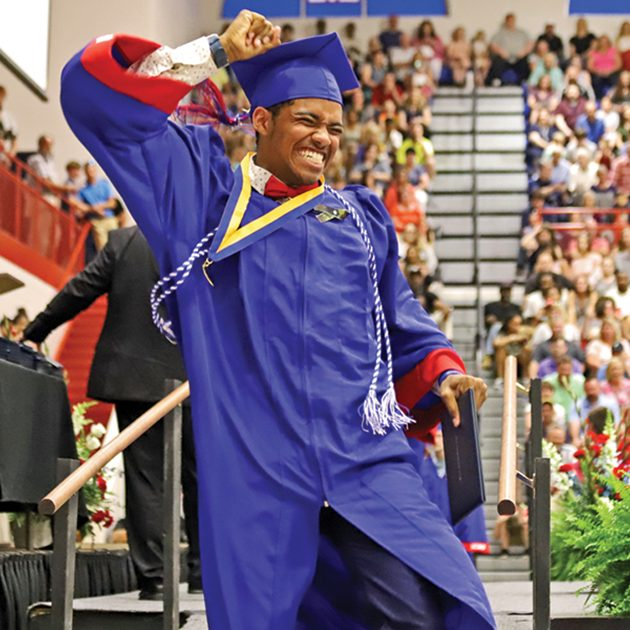 The class of 2020 can celebrate. Mercer County Senior High School will hold their graduation ceremony on Aug. 1. (The Harrodsburg Herald/Robert Moore)