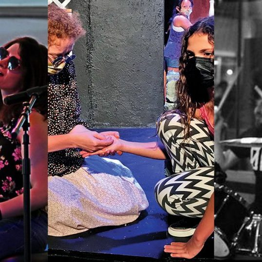"""A dozen artists, including Sofia Goodman, left, will take part in this year's Fort Harrod Jazz Festival. Ragged Edge Community Theatre's production of """"the Miracle Worker"""" begins a two-week run on Friday. The Artists Formally Known as Apostrophe play at the Vault on Saturday. Composite image."""