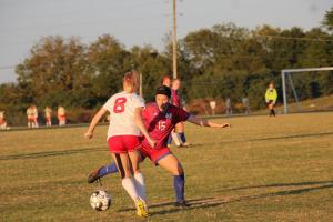 Girls Mercer VS East Jessamine Soccer