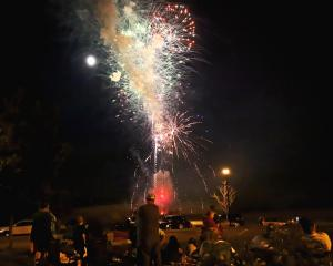 Fireworks at the Willows