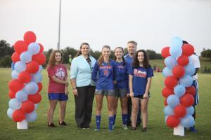 Mercer Girls senior soccer