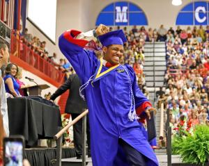 Mercer County Senior High School Graduation