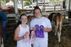 Mercer Co. Fair Dairy Show 2020
